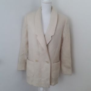 Penguin Womens Mohair Double Breasted Coat